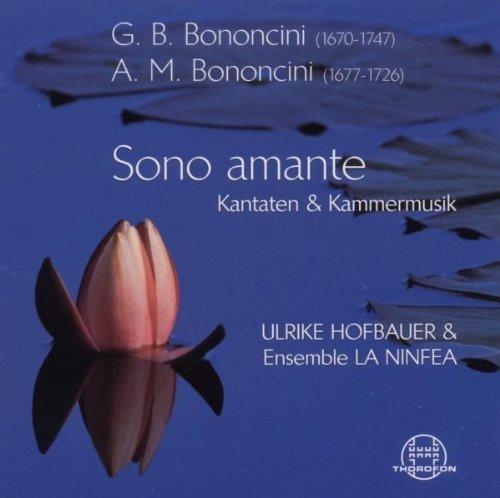 Preisvergleich Produktbild Sono Amante.Kantaten und Kammermusik