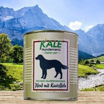 Kale Pferd mit Kartoffeln Nassfutter Hund (12 x 800g)