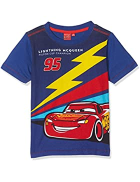 Cars Ss T-Shirt, Camiseta para Niños