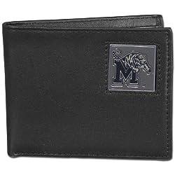 NCAA Memphis Tigers Leather Bi-fold Wallet