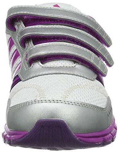 adidas Performance A-Faito Lt Cf K/D66042 D66042, Scarpe sportive Unisex bambini Bianco (Weiß (RUNNING WHITE FTW / VIVID PINK S13 / TRIBE PURPLE S14))