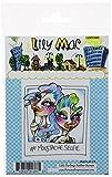 Unsere Kleinen Schnurrbart Selfie Lily Mac Clear Stamp, Transparent