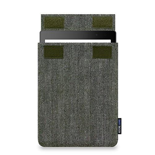 Adore June Business Hülle für E-Reader Schwarz, Grau 19,8 cm (7,8 Zoll) - Hüllen für E-Reader (Tasche, Schwarz, Grau, Kobo, 19,8 cm (7,8 Zoll), Baumwolle, Kobo Aura ONE)