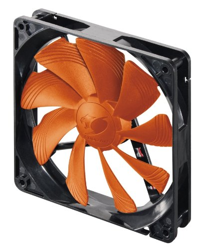 Compucase CF-T12S Cougar Fan with Hyper-Spin Bearing,MTBF150,000hrs and  Cougar Patented Blade