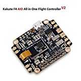 LITEBEE Kakute AIO F4 Controladora De Vuelo Integrado PDB, Betaflight OSD, BEC Flight Controller (120A Maximum Continuous Current, Input Voltage 7v-42v) for PFV Racing RC Drone Quadcopter by