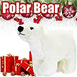 Weihnachtskuschel Plüsch Eisbär Stofftier Kawaii Floppy Collection Kinder Erwachsene