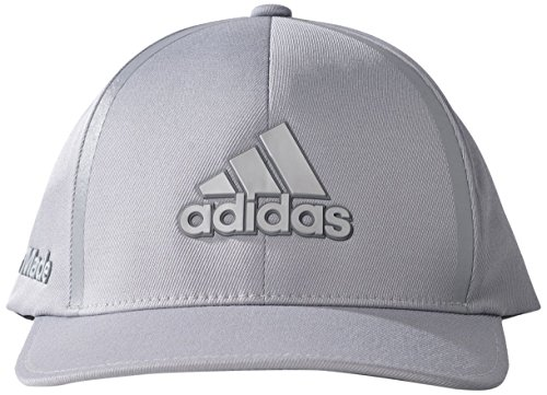 752cf8fd0d127 adidas Tour Delta Textured Cap - Mid Grey Black