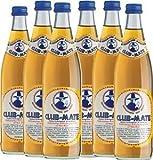 6 Flaschen a 0,5 L Club Mate Tee Clubmate inc. Pfand