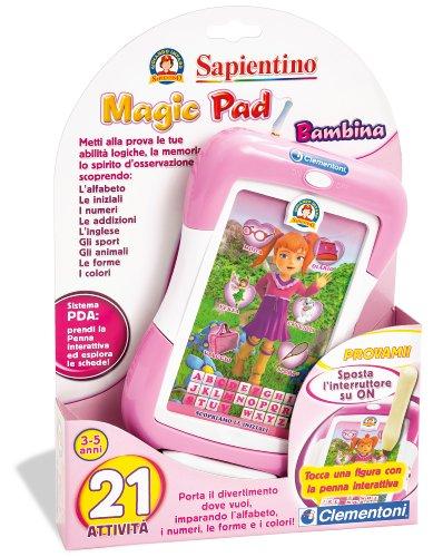 Clementoni 13559 - sapientino magic pad bambina