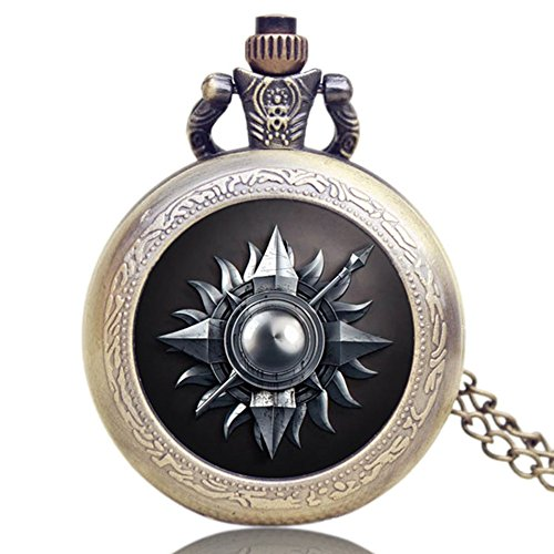 game-of-thrones-house-martell-logo-antique-bronze-effect-retro-vintage-case-mens-quartz-pocket-watch