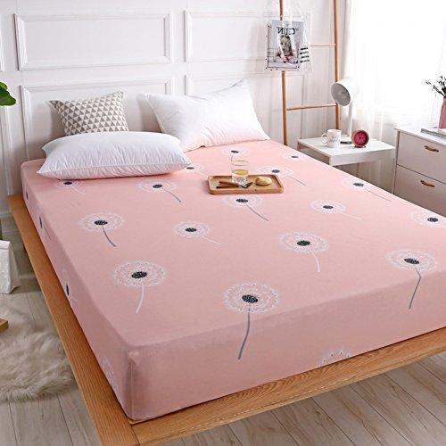 SL&CL Ultra weiche bettdecke,Baumwolle Bett matratze Abdeckung staubschutz 1.5 m 1.8m bettw?sche Baumwolle bettdecke verblassen best?ndig solid Color Hotel Stoff-J 180x200cm(71x79inch) -