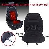 Sedeta® 12V cuscino del sedile riscaldato Seggiolino Auto inverno riscaldatore più caldo della copertura per l'automobil