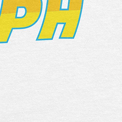 Planet Nerd - 88 MPH Time travelling Speed - Herren T-Shirt Weiß
