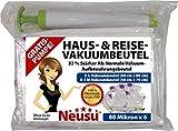 Premium-qualità Neusu per casa e viaggio-sottovuoto-pacchetto - 6 Pack 80 8080 micron sacchetti sottovuoto (3 XL 60 cm x 80 cm 3 L 50 cm x 70 cm &) con Pompa gratis
