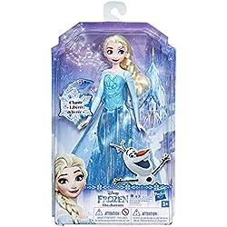 Disney La Reine des Neiges 2 - Poupee Princesse Disney Elsa Chantante -Chante en français - 30 cm