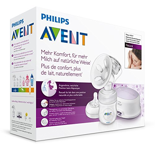 Philips Avent SCF332/01 Elektrische Komfort-Einzelmilchpumpe, transparent - 8