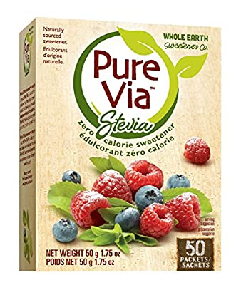 Pure Via Stevia 50ct Packets from Pure Via