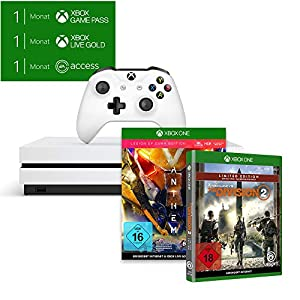 Xbox One S 1TB – Anthem Bundle inkl. Anthem: Legion of Dawn Edition + Tom Clancy's The Division 2 Limited Edition…