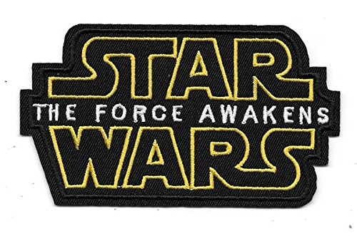 "Star Wars ""The Force Awakens ricamato toppa, Star Wars patch badge iron-on Sew ricamato distintivo giacca distintivo fai da te abbigliamento Frabic accessori"