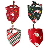Nice Dream Collare Bandana di Natale per Cani, Asciugamano Saliva Fazzoletto Fazzoletto da Collo Accessori per Animali Domestici Cani e Cuccioli