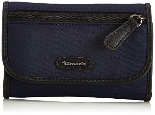Tamaris KIRSTY Small Wallet with Flap 7060142-805 Damen Geldbörsen 12x11x2 cm (B x H x T), Blau (navy 805) (Kleine Flap Tote Tasche)