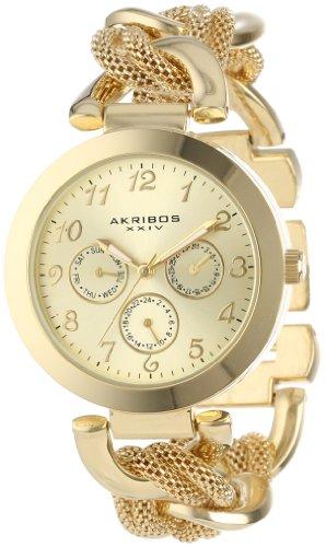 Akribos XXIV Femme Multifonction Montre Bracelet