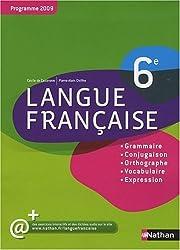 Langue francaise 6e : Programme 2009