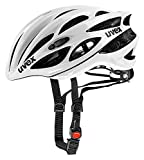 Uvex Fahrradhelm Race 1, White, 55-59, 4101701117