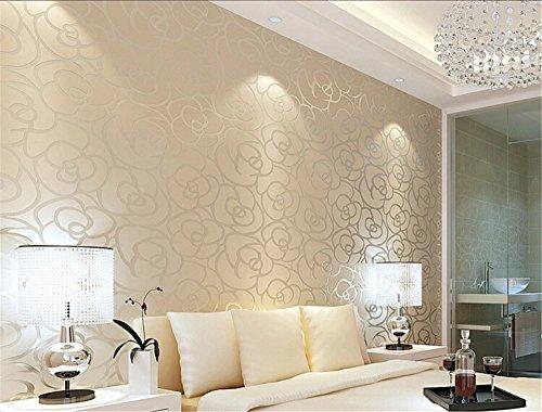 ufengke-no-tejido-bronceadores-flocado-romantico-rosa-patron-de-flores-3d-papel-pintado-mural-para-l
