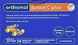 Orthomol junior C plus 14er Kautabletten für Kinder - Vitamine & Spurenelemente - Nahrungsergänzung für das Immunsystem