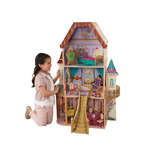 Kidkraft Houten Poppenhuis Belle + Poppenmeubels 118x77x49cm