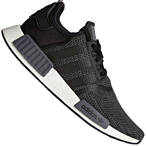 adidas Originals Sneaker NMD_R1 B79758 Schwarz, Schuhgröße:44 2/3 (Adidas Schuhe)