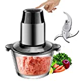 HomeFast Plastic Electric Food Chopper/Processor, Bowl Blender Grinder for Meat, Vegetables, Fruits and Nuts, Fast and Slow 2 Speed (Multicolour)
