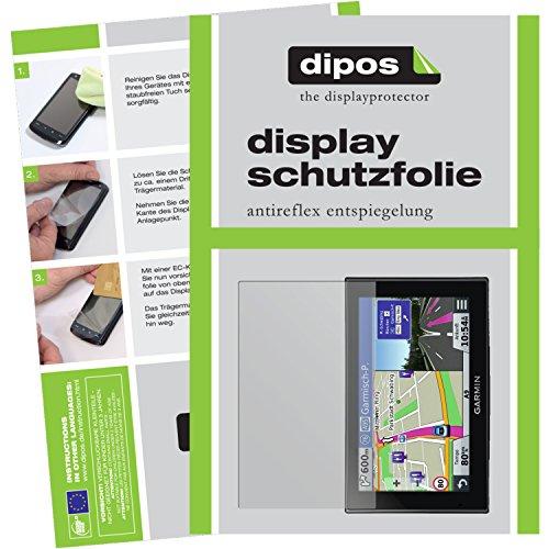 dipos I 3X Schutzfolie matt kompatibel mit Garmin nüvi 2599 LMT Folie Displayschutzfolie