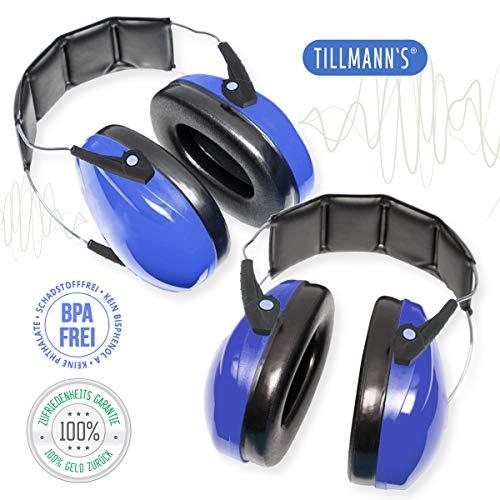 Gehörschutz für Baby | Baby Kopfhörer Lärmschutz | Ab 2 Monaten - 3 Jahren | Reduziert Lärmpegel um 27 dB | Lärmschutzkopfhörer | Ohrenschützer für Kleinkinder von 1A Qualität Tillmann's Deutschland