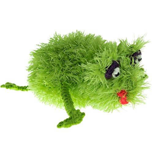 Oomaloo Hundespielzeug Frosch, handgefertigt -