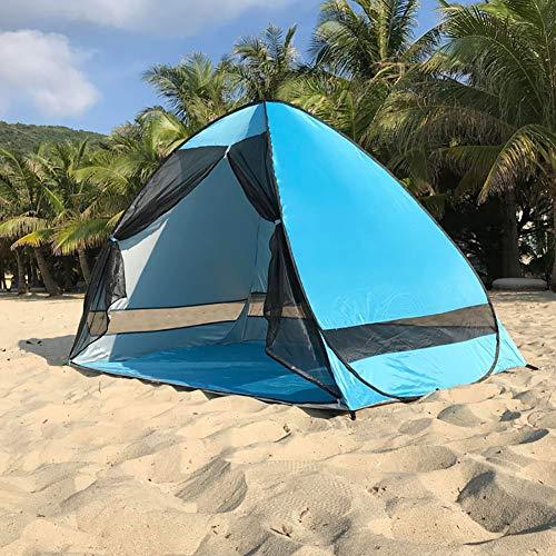 Instant-canopy Zelt (WYYHAA Automatische Pop Up Beach Zelt, tragbare Sport Shelter Sonnenschutz Instant Anti UV Canopy Sonnenschutz für Familie Kinder Baby Outdoor Camping Angeln)