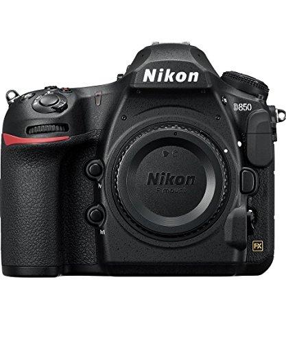 Nikon D850 SD1 - Cámara Digital de 45.7 MP (LCD de 3.2'', 4K UHD, 153 Puntos de Enfoque, 9 FPS) Negro