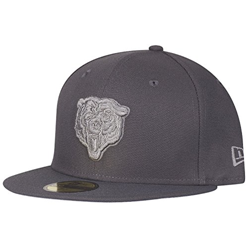 New Era 59Fifty Cap - Graphite Chicago Bears - 7 1/4 -