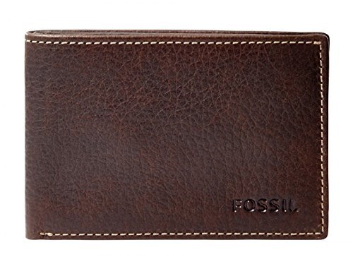 fossil-lincoln-coin-pocket-bifold-brown