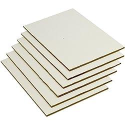 Lienzos Levante Juego de 6 Tablillas Enteladas, Imprimación Acrílica, 24x16 cm 2P