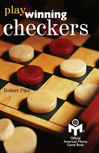 Play Winning Checkers: Official Mensa Game Book (w/registered Icon/trademark as shown on the front cover)