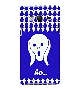 printtech Ghost Exclaim Horror Back Case Cover for Samsung Z3 :: :Samsung Z300H/DD