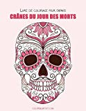 Livre de coloriage pour enfants Crânes du Jour des morts 1