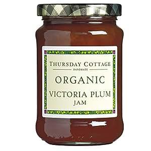 thursday cottage organic victoria plum jam. Black Bedroom Furniture Sets. Home Design Ideas