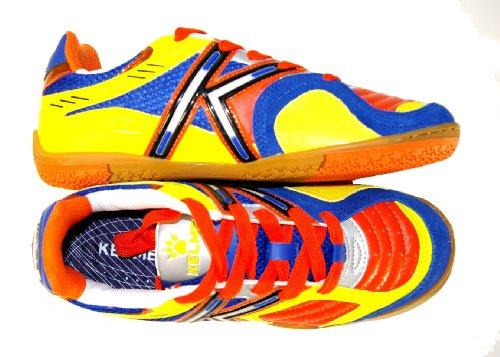 scarpe-da-calcetto-kelme-star-360-indoor-turchese-lime-suola-michelin-40