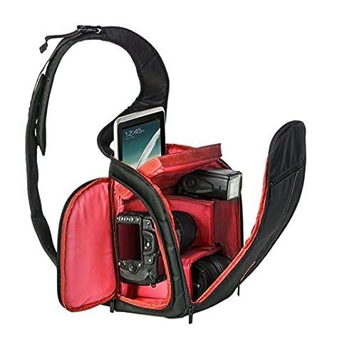 Kamera Taschen, Transer® Wasserdicht Rucksack Kameratasche Neue Kamera Rucksack Bag Wasserdichte DSLR Tasche für Canon für Nikon für Sony Kamera Staubbeutel, Camera Bags, rot