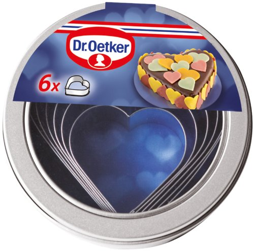 Image of Dr. Oetker 2185 Ausstecherdose Herzen