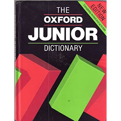 The Oxford Junior Dictionary? 2nd edition