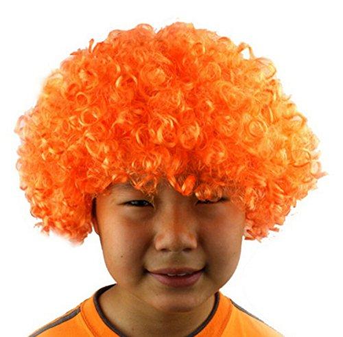 Parrucca pagliaccio TOYMYTOY Parrucche da clown per costume della festa Carnevale in Arancione